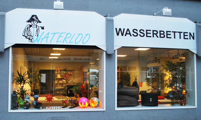Fensterfront Waterloo Wasserbetten in Mülheim